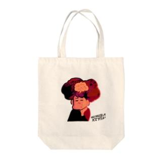 絵画なゆとバズ Tote bags