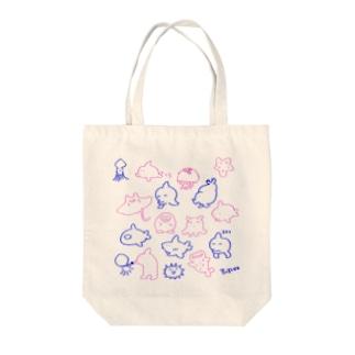 ゆる水族館 Tote bags