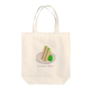 カフェタイム(ハムサンド) Tote bags