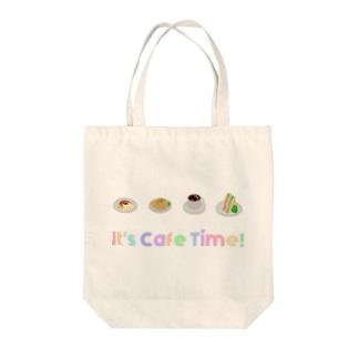 はいどのカフェタイム(ぜんぶ) Tote bags