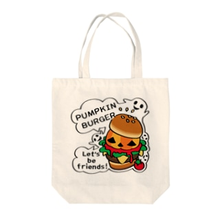 CT14 Gz かぼちゃバーガーA Tote bags