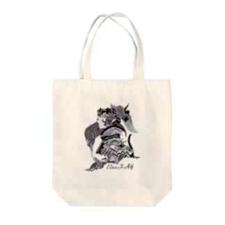 Elza.F.Alf Tote bags