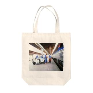 アメリカ:鉄道作業員 U.S.A.: Platform crews Tote bags
