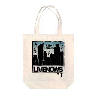 LIVENOWS - City Sounds Tote bags