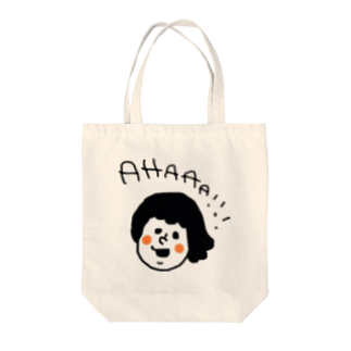 maniiiiのあはー!!! Tote bags