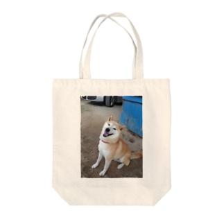 お利口柴犬 Tote bags