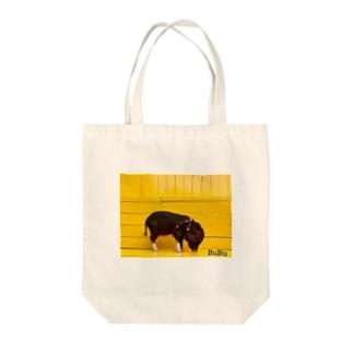 BUBU yellow2 Tote bags