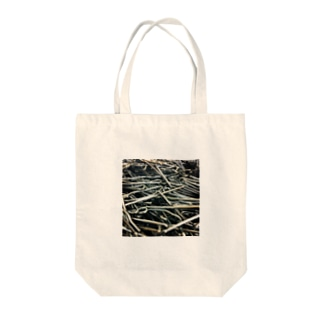 iron_hook Tote bags