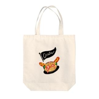 チリドック Tote bags