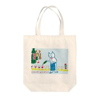 レレソムリエ Tote bags