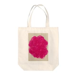 雑交ローズ Tote bags