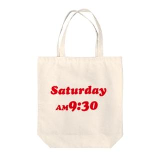 saturday AM9:30 Tote bags