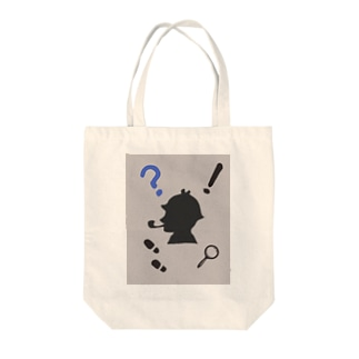 Detective Tote bags