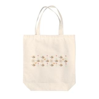 ノーマルオカメグラス Tote bags