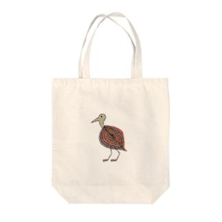 ホロホロ鳥 Tote bags