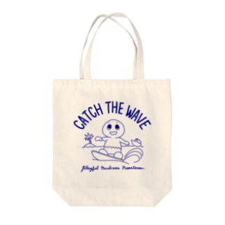 おちゃめキノコのなめ太郎 Tote bags