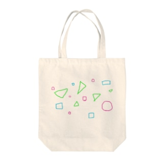 丸三角四角 Tote bags