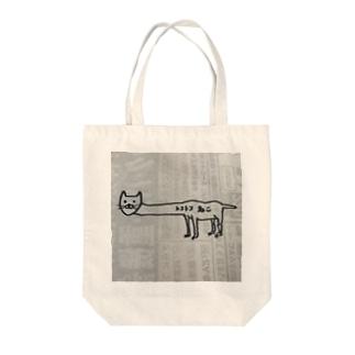 とことこネコ Tote bags