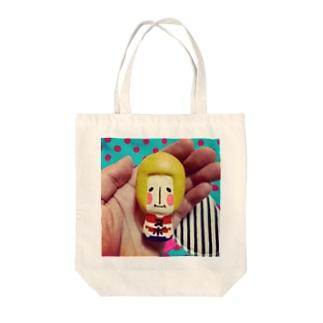 手乗りヌボーさん☺︎ Tote bags