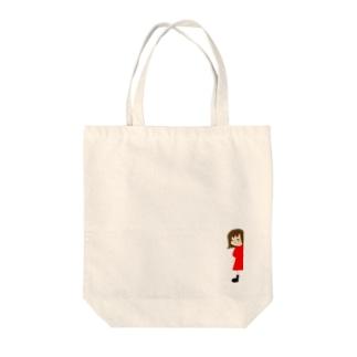 すんこ雑貨店ののぞき見すんこ Tote bags