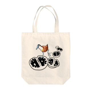 T-29 Lithops x Actophilornis Tote bags