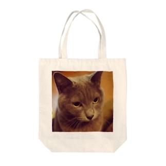 Bush615のぶーにゃん♡ Tote bags