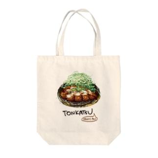 TONKATSU ~oroshi-pon Tote bags