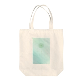 paleturquoise Tote bags