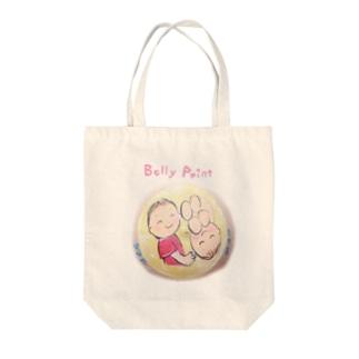 赤ちゃんと月 トートバッグ