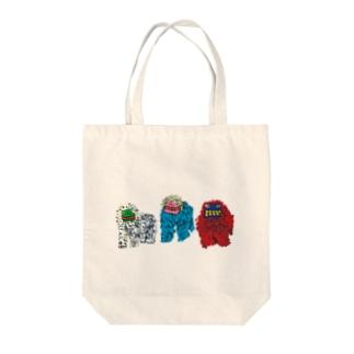 シーシーカンカン Tote bags