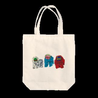 savaのシーシーカンカン Tote bags