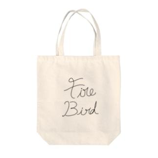 火鳥 Tote bags