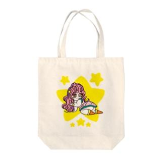 おとめちゃん Tote bags