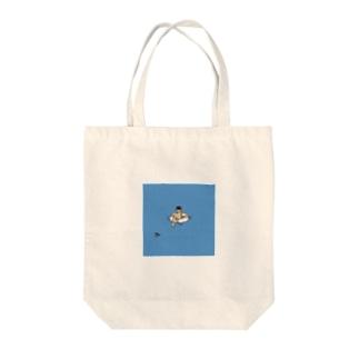 HITORI SERIES - 「海の波乱」 Tote bags
