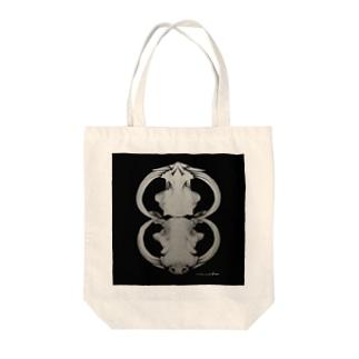イボイノシシ Tote bags