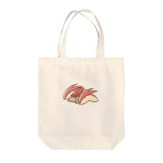 うさりんご Tote bags