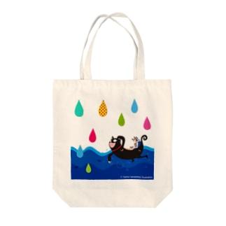 うみねこ Tote bags