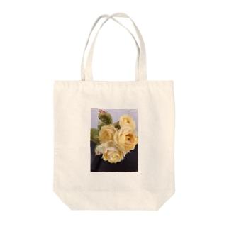 黄薔薇 Tote bags