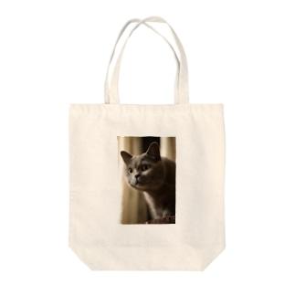 ブリティッシュショートヘア Tote bags