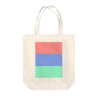 赤青緑 Tote bags