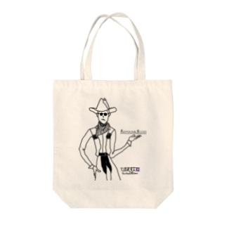 cowboy Tote bags