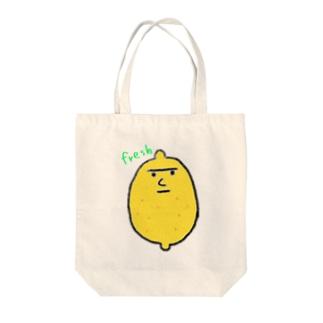 レモンくんトート Tote bags