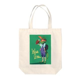 WILD GIRL - WANI Tote bags
