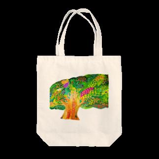 savaの生命宿るりんごの木 Tote bags