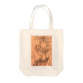 心が Tote bags