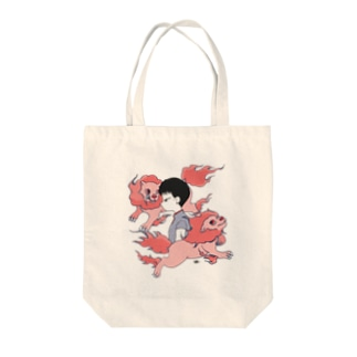 ta1213の獅子座の女トートバッグ Tote bags