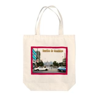 メキシコ:グアダルーペの風景写真 Mexico: Basílica de Guadalupe Tote bags