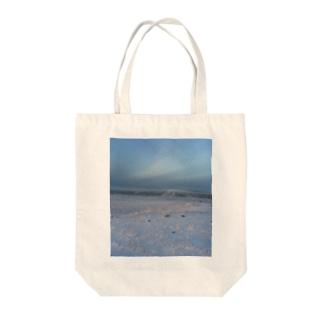 世界の風景:Arctic3 Tote bags