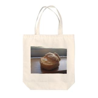 シュークリーム Tote bags
