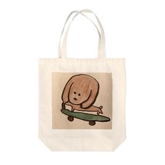 ぼくロッキー Tote bags